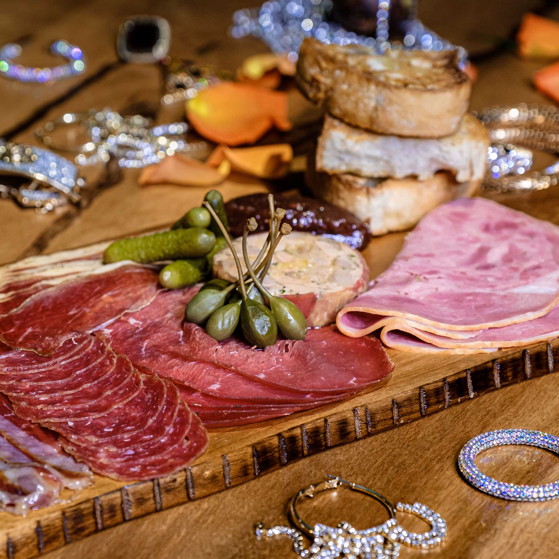 Baby Q Dubai Meat and Cheese Selections
