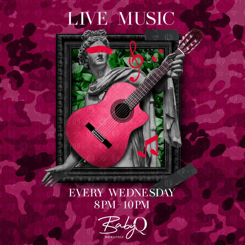 Baby Q Dubai Live Music Every Wednesday